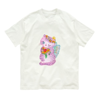ミュウシュカフェアリー Organic Cotton T-shirts
