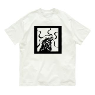 カラス(モノクロ) Organic Cotton T-shirts