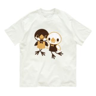 文鳥人形 Organic Cotton T-shirts