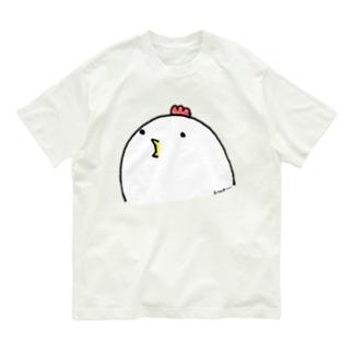 よいものです-ぺこぺことり Organic Cotton T-shirts