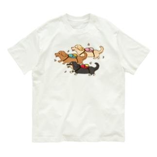 おでかけダックス Organic Cotton T-Shirt