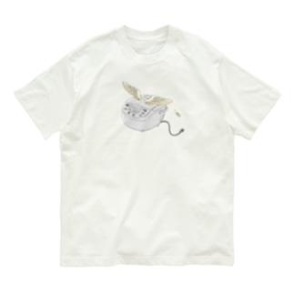 空飛ぶ炊飯器 Organic Cotton T-Shirt