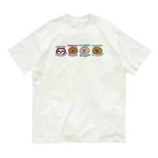 まいにちナマケモノ図鑑 Organic Cotton T-Shirt