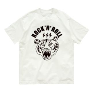 ROCK 'N' ROLL TIGER タイガー/トラ/虎 Organic Cotton T-shirts