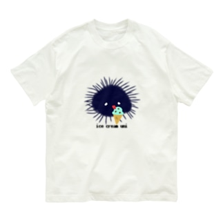 アイスうに Organic Cotton T-Shirt