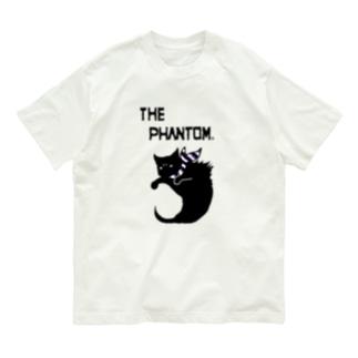 彷徨える黒い亡霊の服・明色向け Asexual Pride Colors Organic Cotton T-shirts