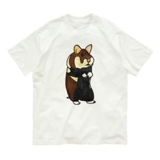 クロハラハムスター Organic Cotton T-shirts
