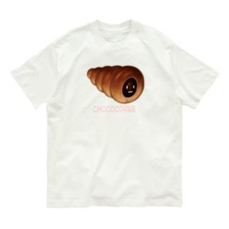 チョココロネ顔つき Organic Cotton T-shirts