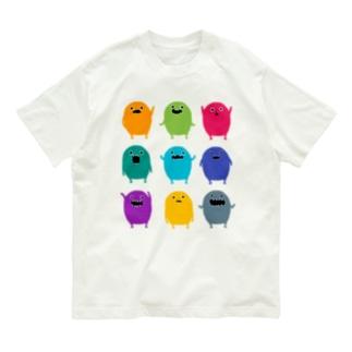 カラフルモンスター Organic Cotton T-shirts