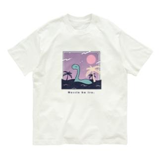 ネッシーはいる。 Organic Cotton T-Shirt