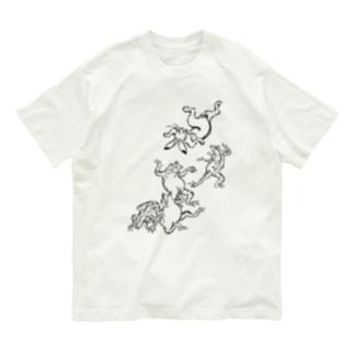 鳥獣戯画!!! Organic Cotton T-shirts