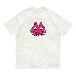 ねこタコ Organic Cotton T-Shirt