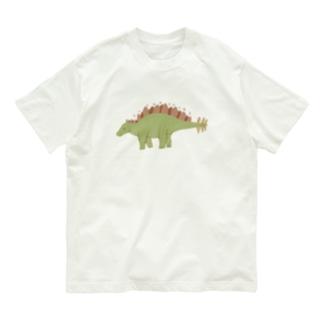 ステゴサウルス Organic Cotton T-shirts