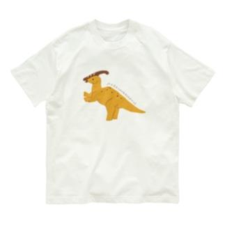 パラサウロロフス Organic Cotton T-shirts
