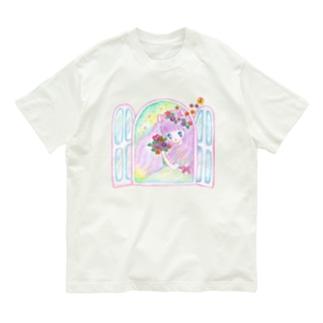 リェーニャ(せなかに天使の羽) Organic Cotton T-shirts
