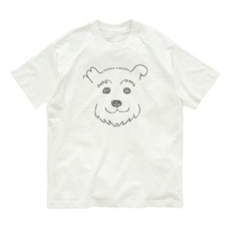手書きシュナ Organic Cotton T-shirts