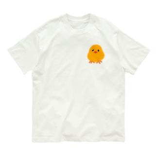 ふんわりピヨコ② Organic Cotton T-shirts