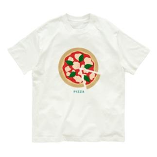 ピザ Organic Cotton T-Shirt