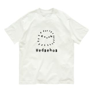 無色のハリネズミ Organic Cotton T-shirts