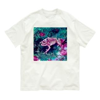 Fantastic Frog -Fascinating Version- Organic Cotton T-shirts