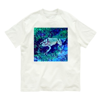 Fantastic Frog -Moonlight Version- Organic Cotton T-shirts