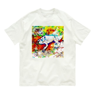 Fantastic Frog -Daydream Version- Organic Cotton T-shirts