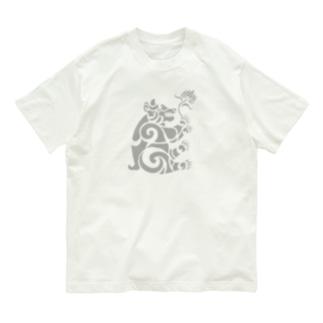中南米風のクマ Organic Cotton T-shirts