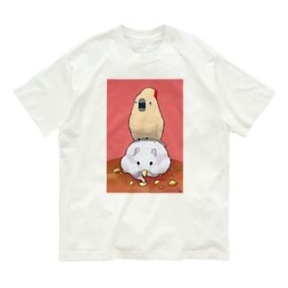 ふんわりおおばたんさんとネズミ年 Organic Cotton T-shirts