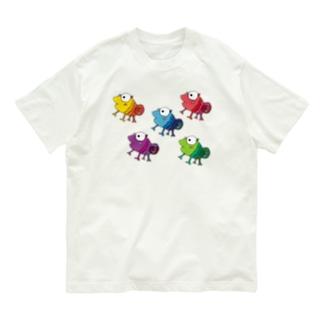 カメレンジャー Organic Cotton T-shirts
