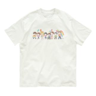 【Rainbow】パレード Organic Cotton T-shirts