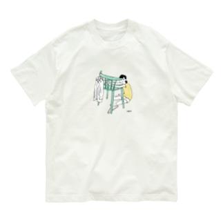 仮住まい Organic Cotton T-shirts