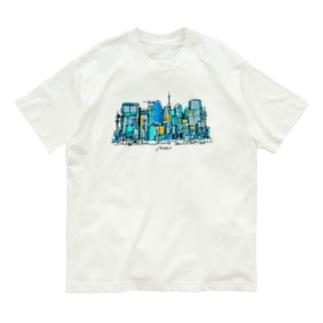 あの街 Organic Cotton T-shirts