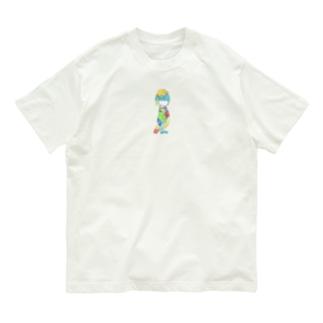 ねこけとり Organic Cotton T-shirts