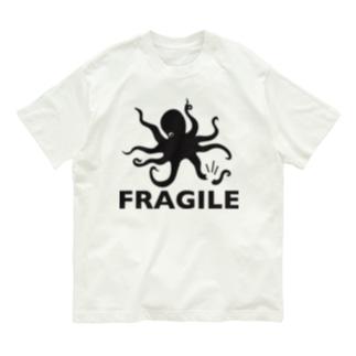 ワレモノ注意 Organic Cotton T-shirts