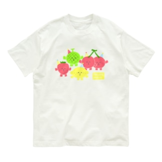 FRUITS PARTY Organic Cotton T-shirts