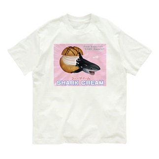 シャークリーム Organic Cotton T-shirts