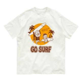サーフモンモンA Organic Cotton T-shirts