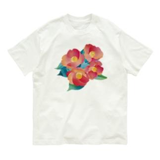 赤椿 Organic Cotton T-Shirt