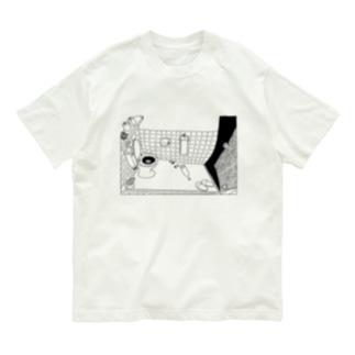 かもめB-Tシャツ Organic Cotton T-shirts