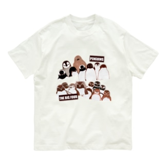 PENGUINS THE BIG FOUR LIVE! Organic Cotton T-shirts