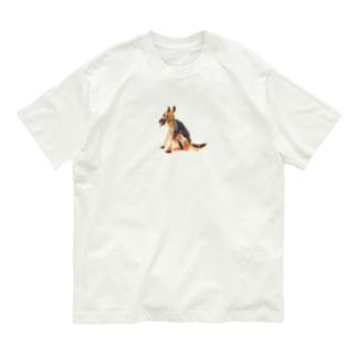 のばら(NOBARA)のシェパードのTシャツ Organic Cotton T-Shirt