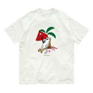 だんすだんすの化けーしょん Organic Cotton T-shirts