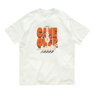 GAME OVER Organic Cotton T-shirts