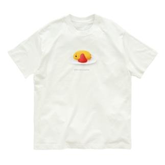 ひよこオムレツ Organic Cotton T-shirts