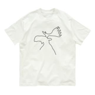 ヘラジカ Organic Cotton T-shirts
