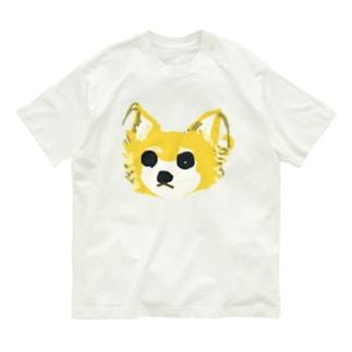 わんこの茶色ちゃん Organic Cotton T-shirts