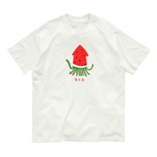すイカ Organic Cotton T-shirts