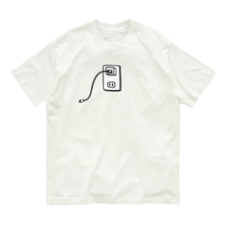 麦畑のiPhone充電器 Organic Cotton T-shirts