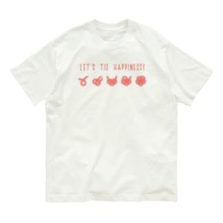 紙単衣 - kamihitoe -の梅結びの結び方 Organic Cotton T-shirts