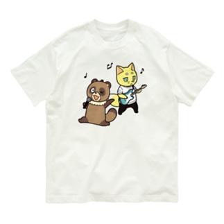 ムク&山椒の楽しい音楽 Organic Cotton T-shirts
